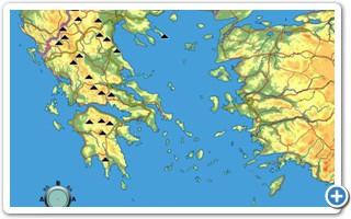 Τα βουνά της Ελλάδας.